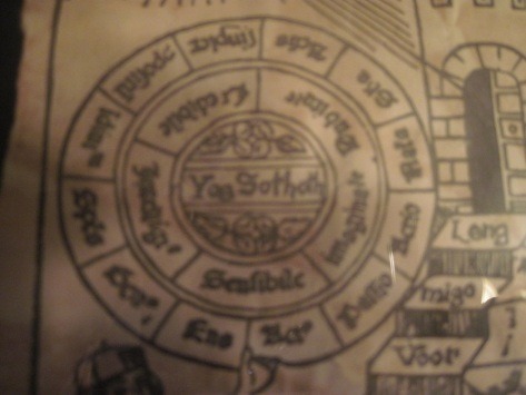 Detail of the 'Yog Sothoth' seal